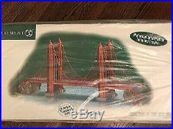 Department 56 Christmas In The City Golden Gate Bridge Nib