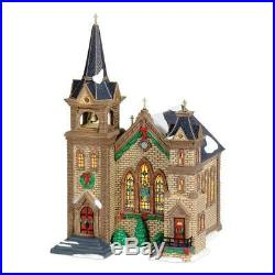 Department 56 Christmas In The City ST. Mary Church Ltd Edition # 450 of 6000