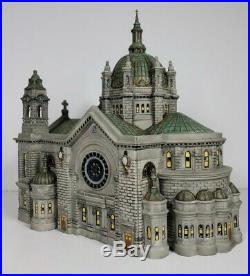 Department 56 Christmas In The City Series 2001 Cathedral Of Saint Paul (Patina)