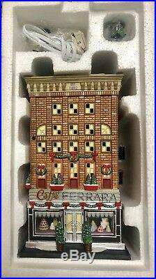 Department 56 Christmas In The City Series Ferrara Bakery & Cafe #59272 Retired