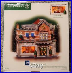 Department 56 Christmas In The City Series Hensley Cadillac & Buick