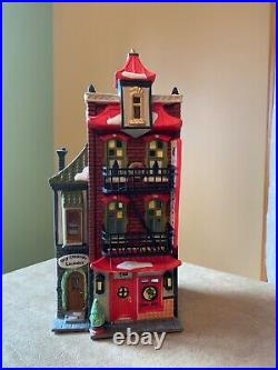 Department 56, Christmas In The City Series, Wong's in Chinatown