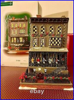 Department 56 Christmas In The City (THE RARE) 21 Club RETIRED CIC DEPT 56