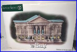 Department 56 Christmas In The City The Art Institute Of Chicago NIB Retired