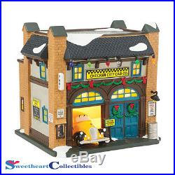 Department 56 Christmas In the City Checker City Cab Co New 2015