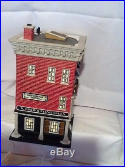 Department 56 Christmas In the City Hammerstein Piano Co