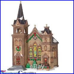 Department 56 Christmas In the City St. Mary Church Retired