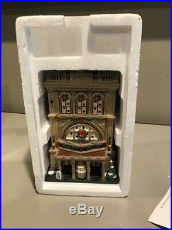 Department 56 Christmas In the City the Roxy 805537 Retired