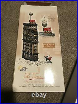 Department 56 Christmas The Times Square Tower New York Special Edition