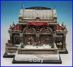 Department 56 Christmas at Lakeside Park Pavilion #59267 Animated