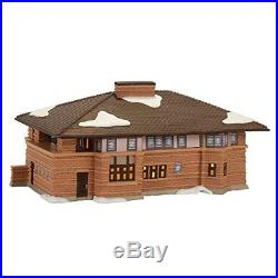 Department 56 Christmas in The City Frank Lloyd Wright Heurtley Lit House