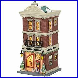 Department 56 Christmas in The City JT Hat Co. Lit House SHIPS GLOBALLY