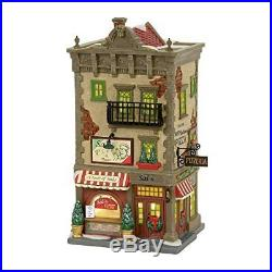 Department 56 Christmas in The City Sal's Pizza and Pasta Village Lit Building