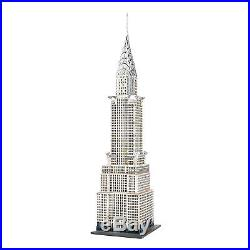 Department 56 Christmas in The City Village The Chrysler B. NEW 2-Day Shipping