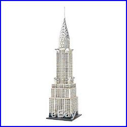 Department 56 Christmas in The City Village, The Chrysler Building Lit House