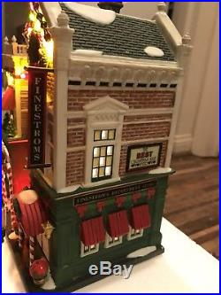 Department 56 Christmas in The City Visiting Santa At Finestroms