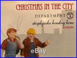 Department 56 Christmas in The City collection (incl Empire State, Chrysler)