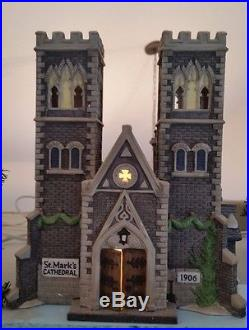 Department 56- Christmas in the City- Cathedral of St. Mark's