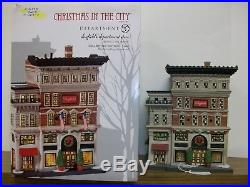 Department 56 Christmas in the City Dayfield's Department Store NIB