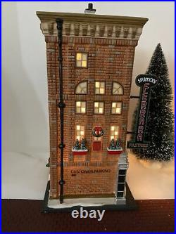 Department 56 Christmas in the City Ferrara Bakery & Cafe 56.59272 Mint Cond