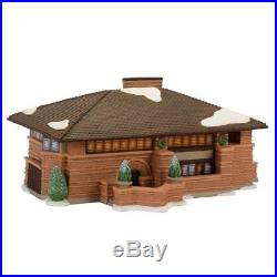 Department 56, Christmas in the City Frank Lloyd Wright Heurtley House