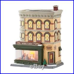 Department 56 Christmas in the City Nighthawks Lit House New