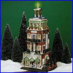 Department 56 Christmas in the City Paramount Hotel #56.58911 New