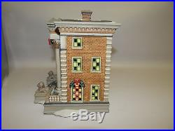 Department 56 Christmas in the City Series Harley Davidson City Dealership