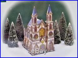 Department 56 Christmas in the City Series /Old Trinity Church /In Original Box
