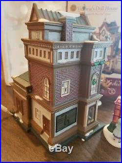 Department 56 Christmas in the City Series Victorias Doll House #59257