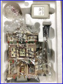 Department 56 Christmas in the City Series Victorias Doll House #59257 Retired