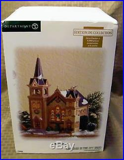 Department 56 Christmas in the City St Mary's Church Collectors Edition