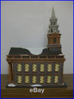 Department 56 Christmas in the City St. Pauls Chapel