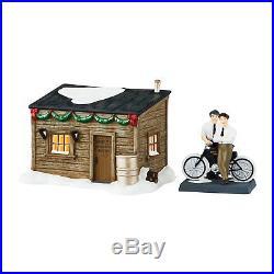 Department 56 Christmas in the City Village Harley-Davidson Motor Light House