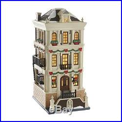 Department 56 Christmas in the City Village Holiday Brownstone Building 4050913