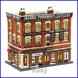Department 56 Christmas in the City Village Jacobs Pharmacy Lit House, 8. New