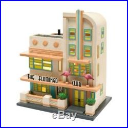 Department 56 Christmas in the City Village The Flamingo Club Lit House