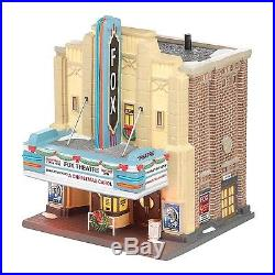 Department 56 Christmas in the City Village The Fox Theatre Lit House 8.27-Inch