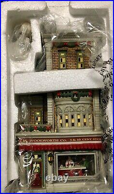 Department 56 Christmas in the City WOOLWORTHS #56.59249 2005 NEW
