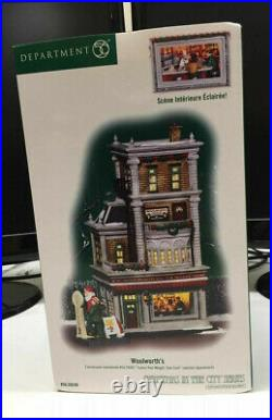 Department 56 Christmas in the City Woolworth's #56.59249 Brand New and RARE