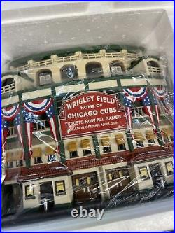 Department 56 Christmas in the City Wrigley Field 58933 Chicago Cubs. NIB