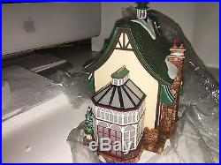 Department 56 Christmas in the City's Tavern in the Park Restaurant 56.58928