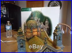 Department 56 Christmas in the city Cathedral of Saint Paul retired NIB