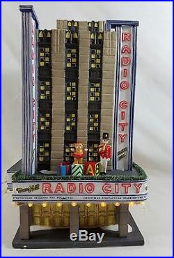 Department 56 Christmas in the city Radio City Music Hall (Retired)