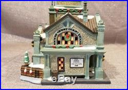 Department 56 EAST HARBOR FERRY TERMINAL #3063 CHRISTMAS IN THE CITY building