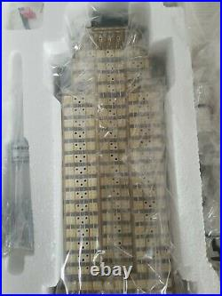 Department 56 Empire State Building Christmas In City 56.59207 NEW OPENBOX RARE