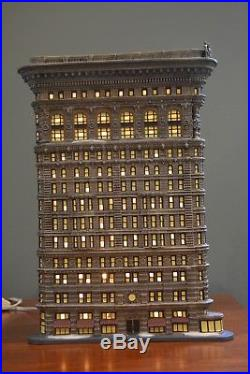 Department 56 Flat Iron Building Christmas in the City Series