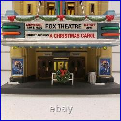 Department 56 Fox Theatre Christmas In the City