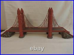 Department 56 Golden Gate Bridge Historical Landmark Christmas in the City withBox