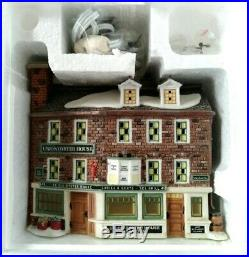 Department 56 / Heritage Village Nev #56.57004 Union Oyster House